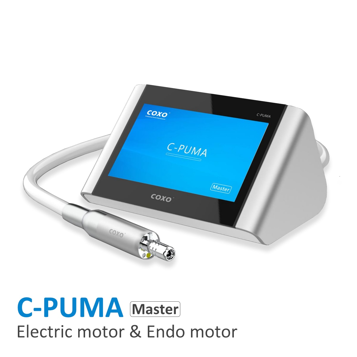 COXO  C-Puma master Dental Electric Motor  with endo motor 2 in 1 , Technician Electrical  Switzerland Brushless Motor  100-2000