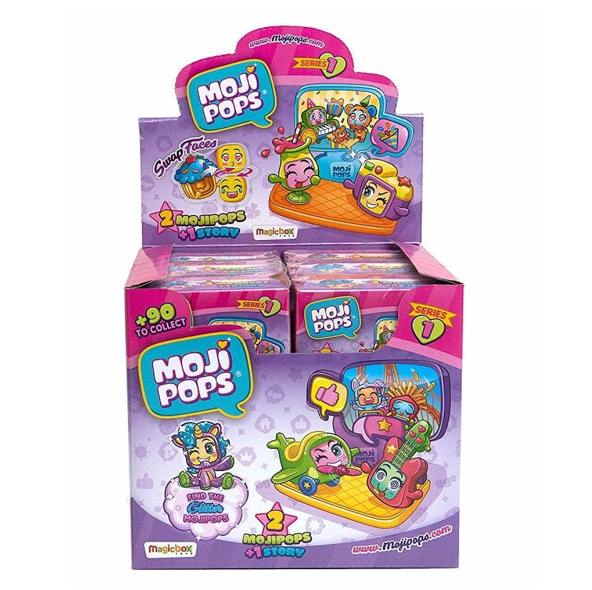Dipsplay 12s Story box с фигурами MojiPops
