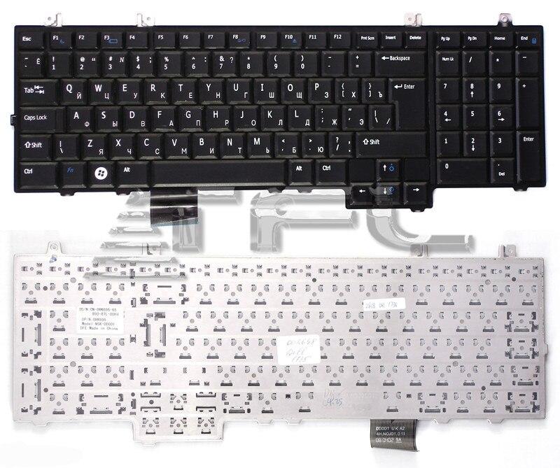 Teclado portátil para Dell Studio 1735 1736 1737 (negro)