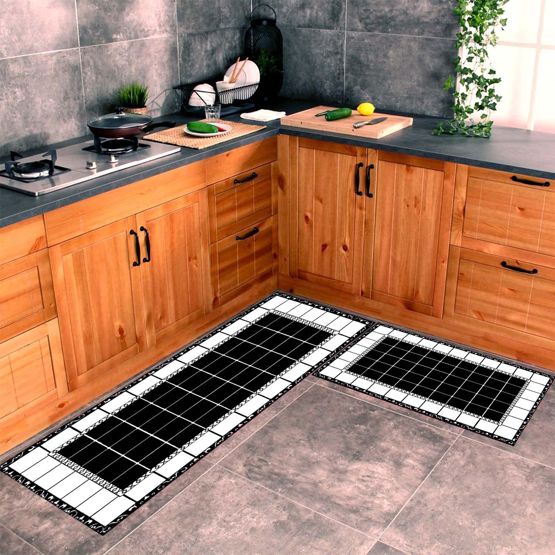 خطوط 2 نمط المطبخ السجاد ، مروحة السجاد المضادة للانزلاق الطابق السجاد ، المراهقين السجاد منطقة السجاجيد