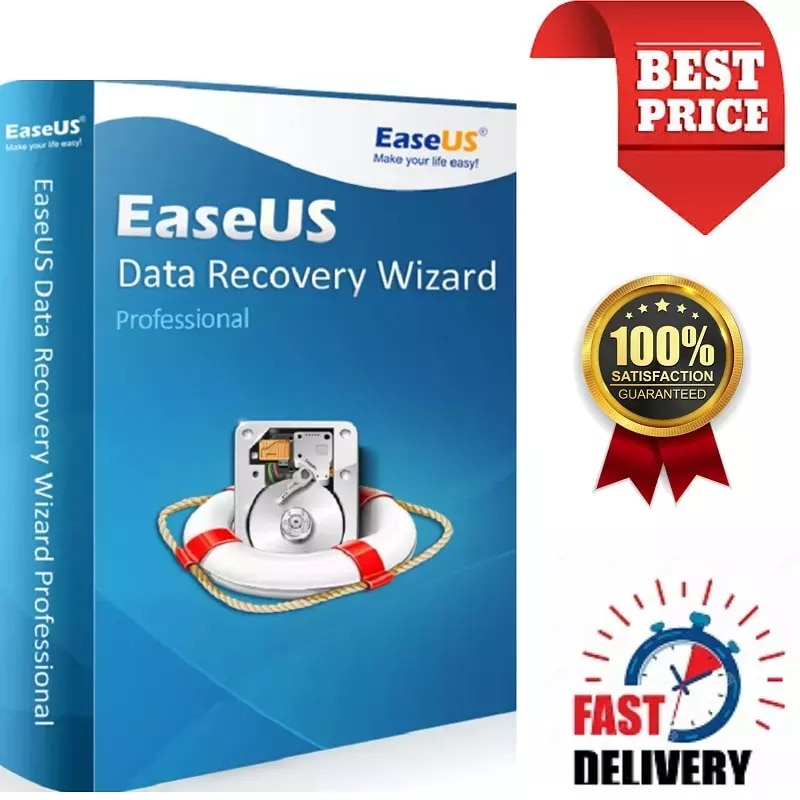 Ease-US Data Recovery Wizard Professional / OnlineShipping / Retail KEY  Authorized Reseller / Multilingual / Global Activation