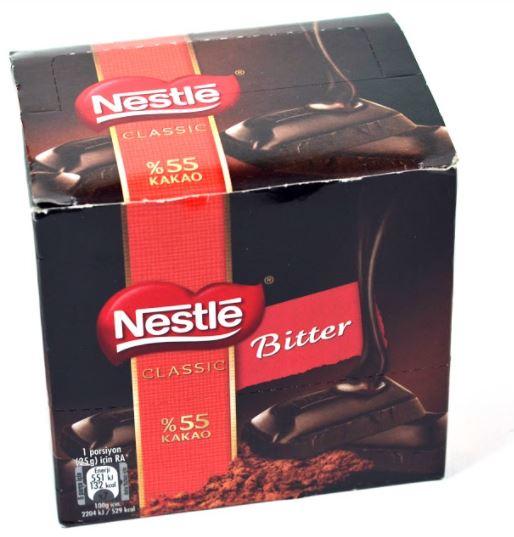 Nestle Classic Dark Square Chocolate 60 G x 6 delicious yummy chocolate