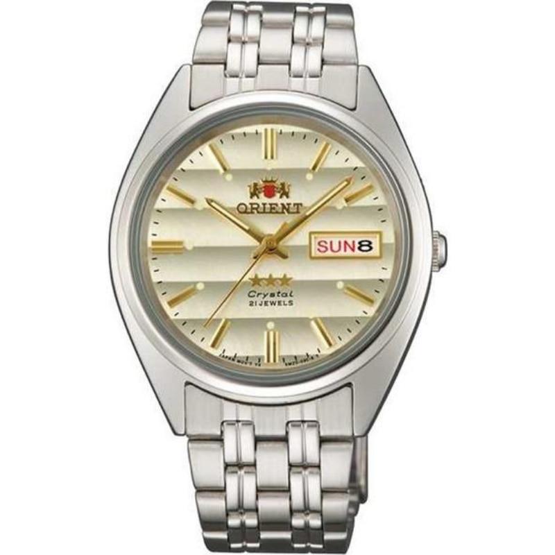 Reloj japonés Orient FAB0000DU9 de acero inoxidable 5ATM resistente al agua Original calibre automático HT710 máquina de elegancia de juego
