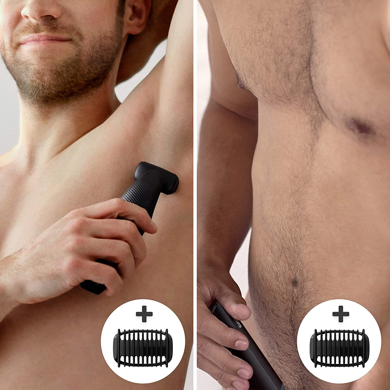 Philips BG3010 / 15 Bodygroom Series 3000 skin-friendly body shaver incl. Trimming head enlarge