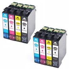 8 dencre cartouches T29XL Modèle T 29 XL 29XLs recharge Compatible avec les imprimantes Epson XP235 XP335 XP332 XP432 XP435
