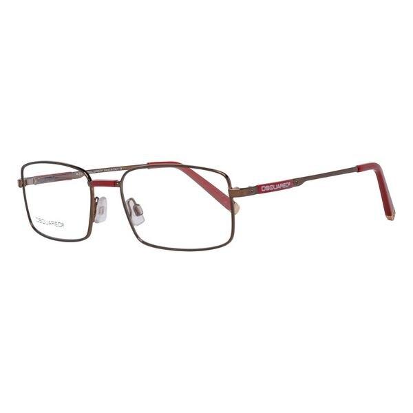 Monture de lunettes pour hommes Dsquared2 DQ5025-045-51 marron (ø 51mm)
