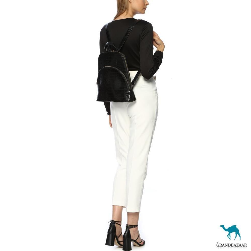 Croco Stylish Design High Quality Backpack -  Luxury Fashion Brand - Hot Sale Fall 2020 - PU Leather - Girls Ladies Women