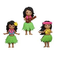 10408. Les filles hawaïennes lhabillent
