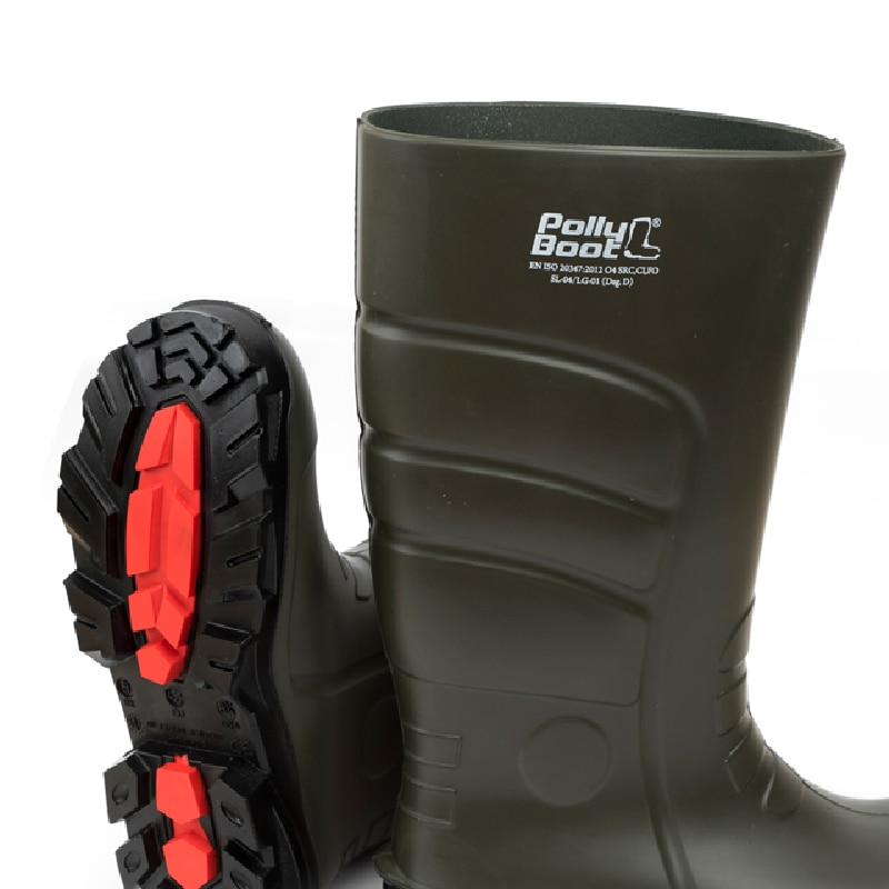 Vega Fishing Waterproof Non Slip Wear Tear Cold Resistant Winter Outdoor Breathable Lightweight Robber Mid-Calf Fisher Boots enlarge