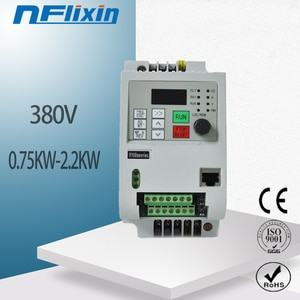 VFD 2.2KW new inverter CNC Spindle motor speed control 380V 1.5KW/2.2KW/4KW 380v 3P input 3P OUT frequency inverter for
