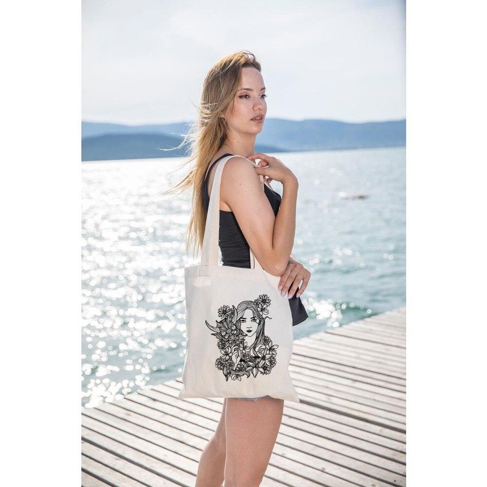 Фото - Italian Design Flower Women Tote Shoulder Bag Organic Paint Summer Beach Shopping Beach Patterned All Areas 35x40 italian interior design