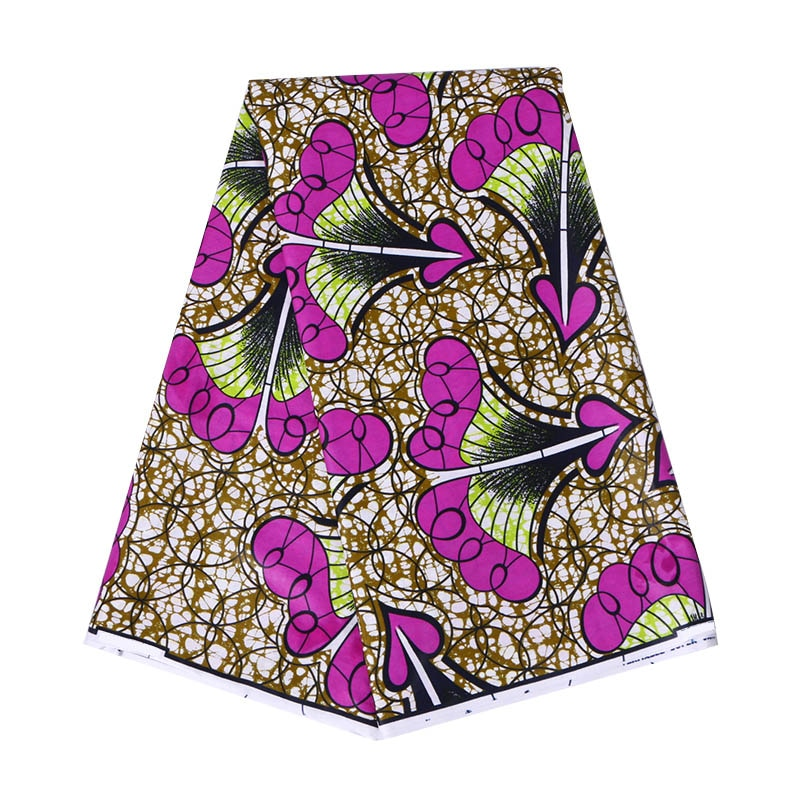 Africa Ankara Prints Batik Patchwork Fabric Real Wax African Sewing Material 100%cotton Good Quality Tissu For Dress Crafts