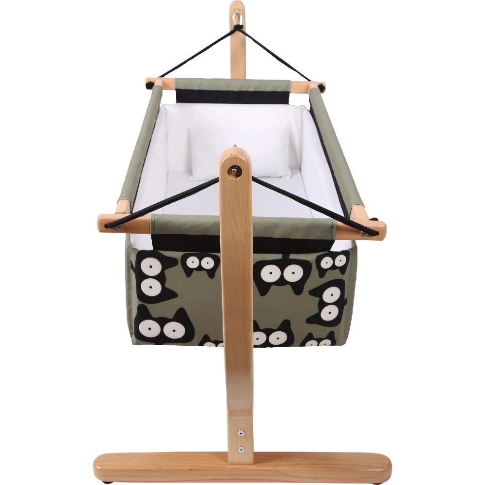 Wooden Baby Crib Hammock Baby Cradles Sleeping Nest Bed Newborn Nursery Furniture Rocking Chair Swing Travel Bed Direct enlarge
