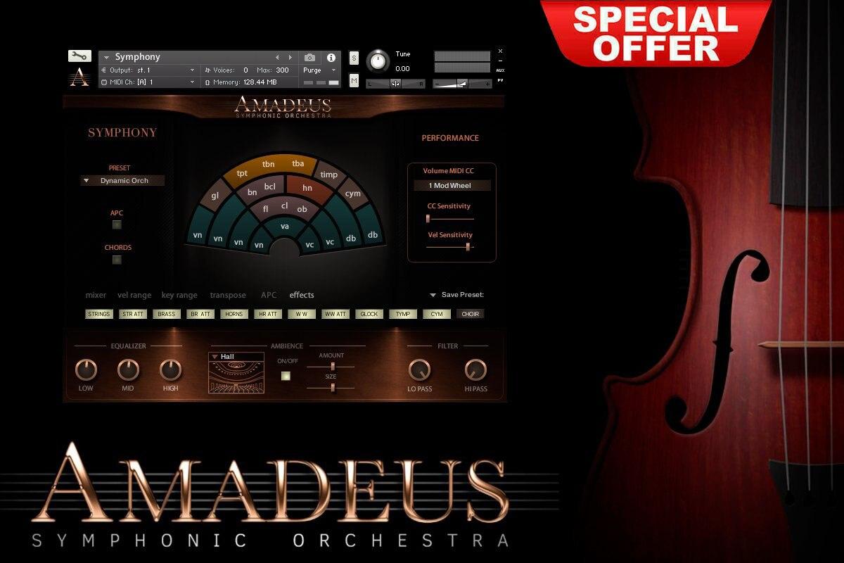 Amadeus Symphonic Orchestra KONTAKT VSTI