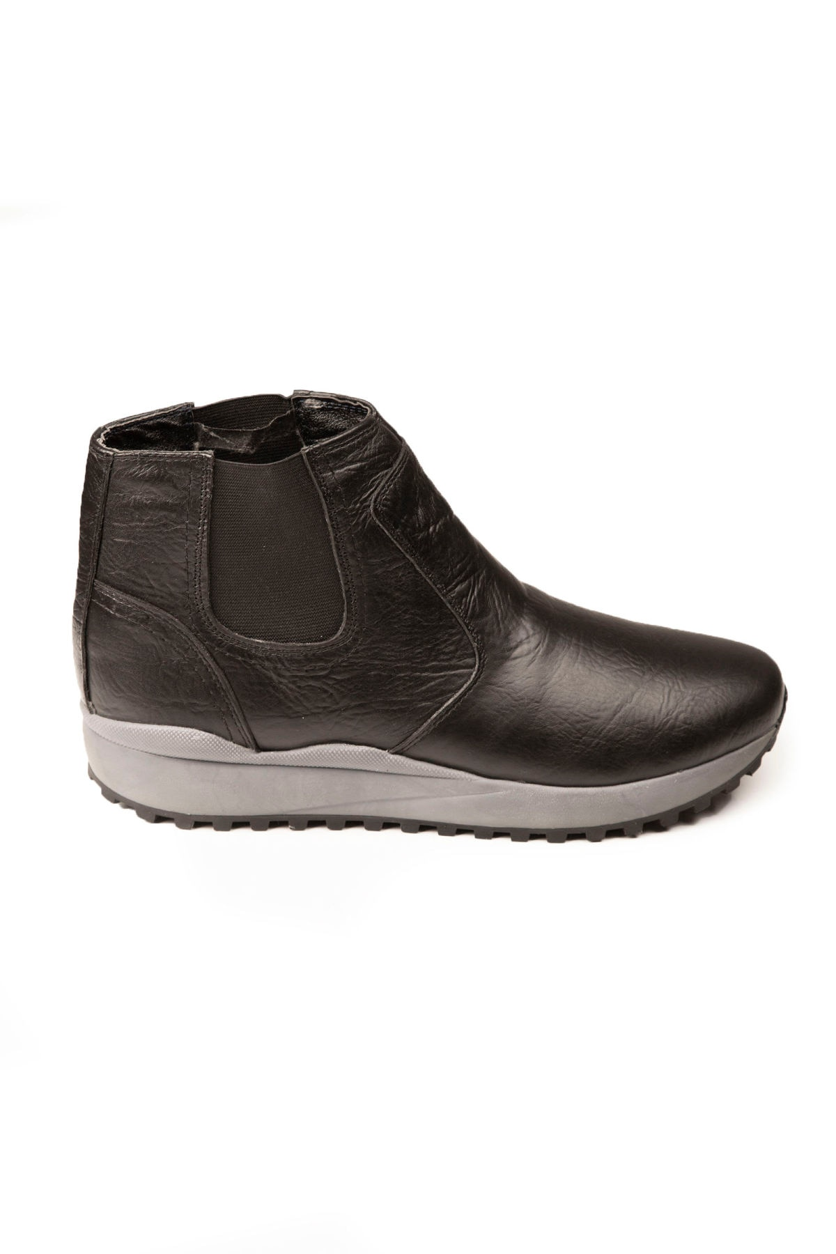 أعماق البحار الذكور بوط من الجلد الطبيعي قاعدة عالية داخل فروي أحذية عالية الجودة الخريف الشتاء حذاء بوت بنصف رقبة مريحة وفاخرة 2106433