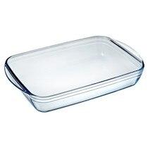 Ofen Gericht Pyrex Klassische Vidrio Transparent Glas