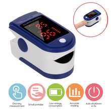 Medical Digital Finger Oximeter Pulse Oximeter TFT Screen Finger Clip SPO2 PR Heart Rate Monitor Blood Oxygen Saturation Monitor
