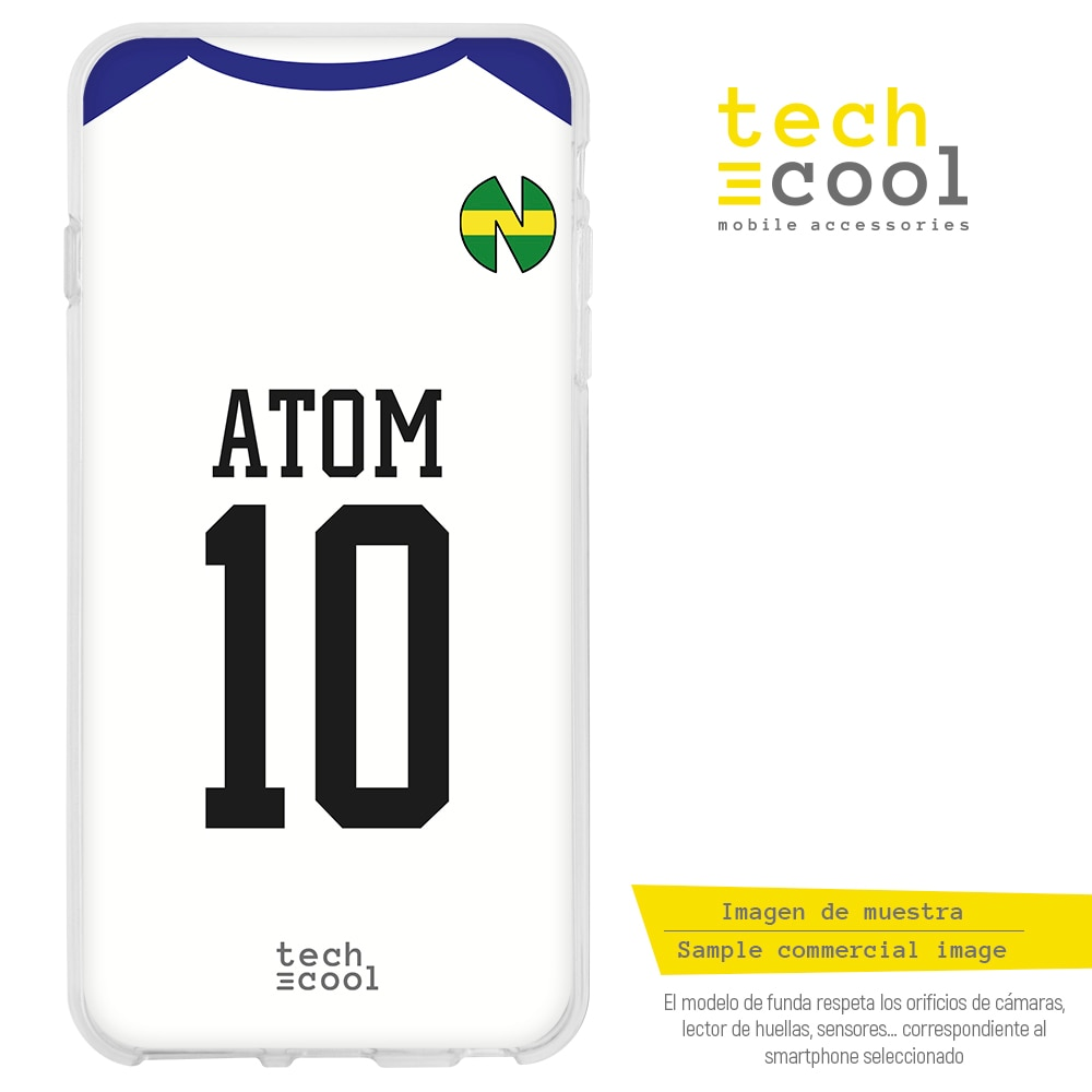 FunnyTech® Funda Silicona para Huawei P Smart 2019 l Camiseta Oliver Atom Oliver y Benji