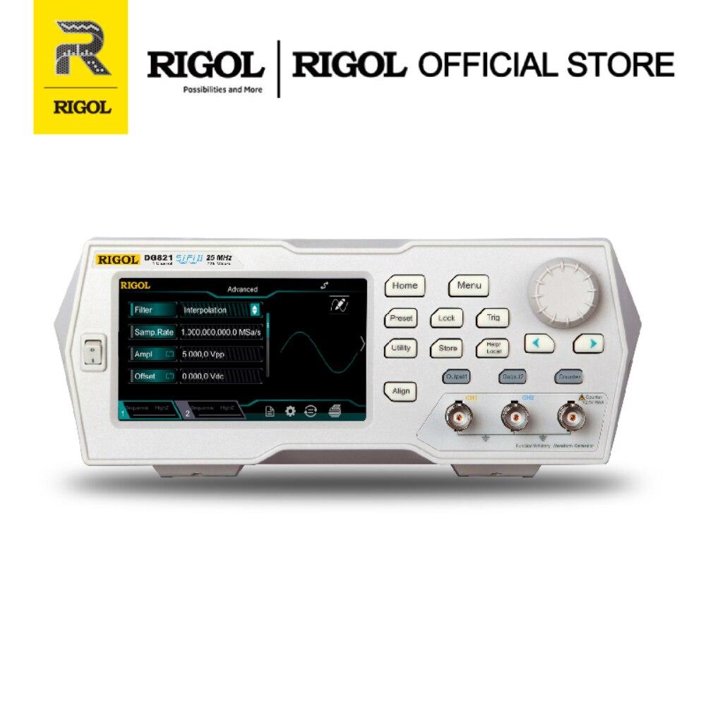 Генератор сигналов RIGOL DG821 25 МГц 1 выход|Генераторы сигнала| |