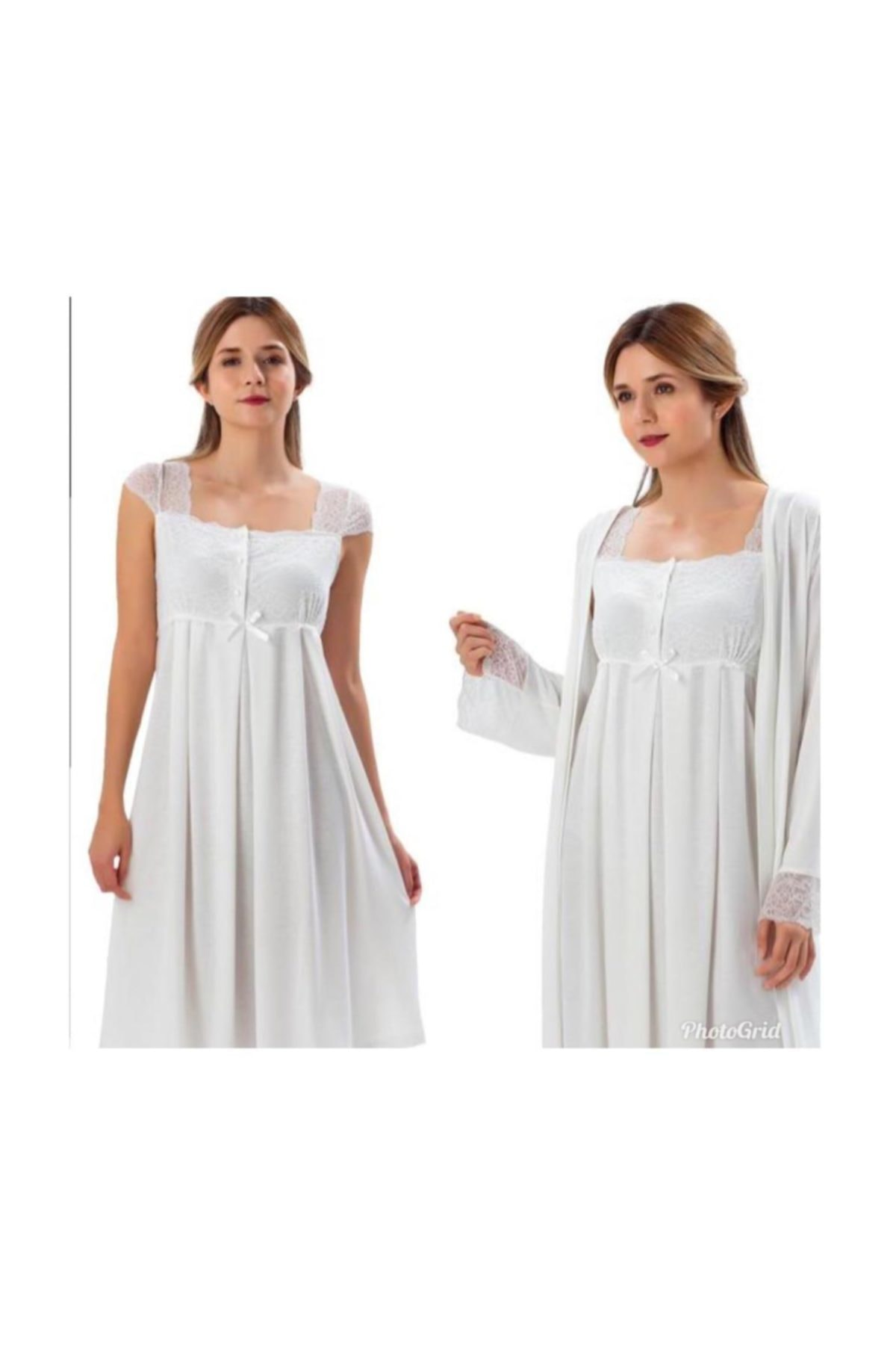 2200 maternity Puerperal Nightgown Dressing Gown Team enlarge