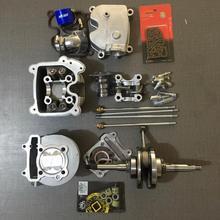 GY6 kit de grand alésage 180cc 157QMB 157qj 152QMI LF150T LIBERTY by BWSP pièces GO KART tête 4 valve tuning G3 quatre vannes camarbre