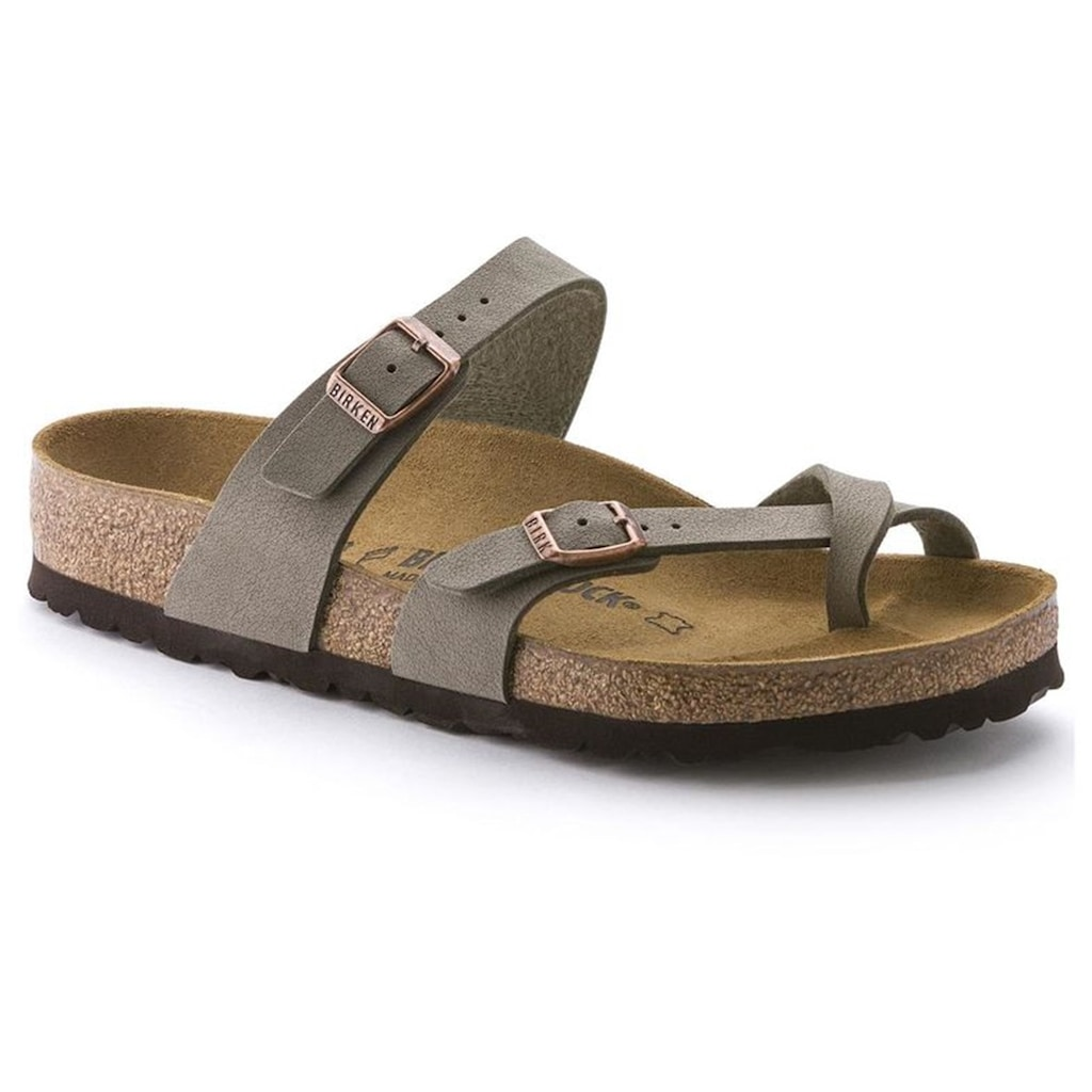Birkenstocks mayari senhora chinelo & sandálias-pedra