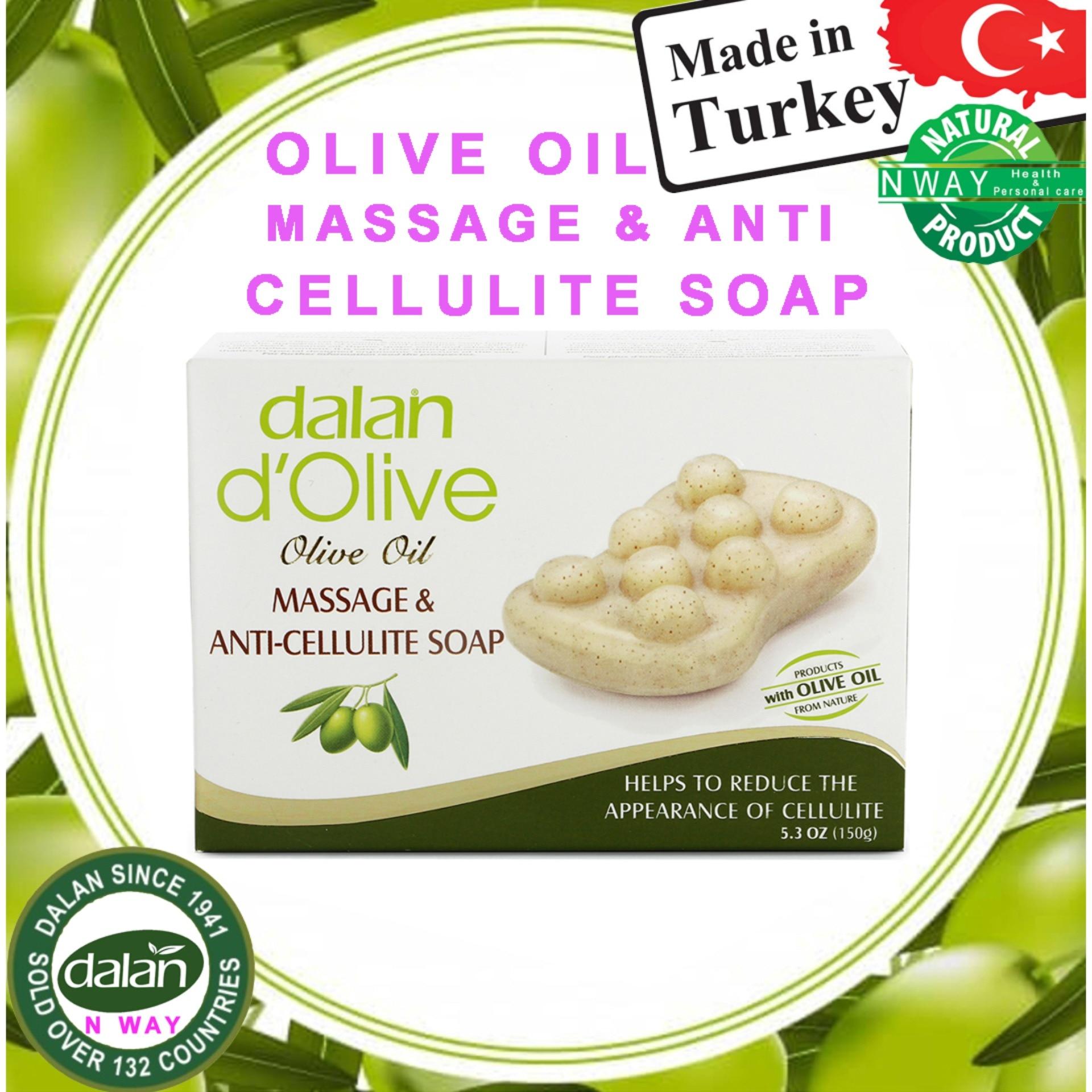 Dalan Olive Oil Massage & Anti-Cellulite Soap 150 Grams