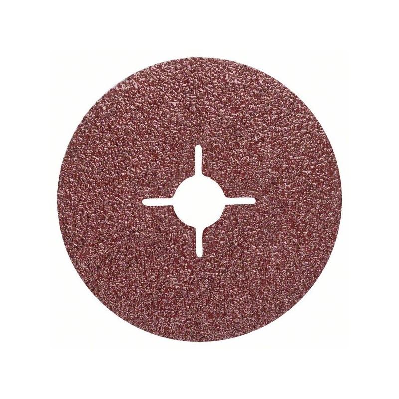 BOSCH-Set 5 discs sander fiber grinder corundum D = 125 mm