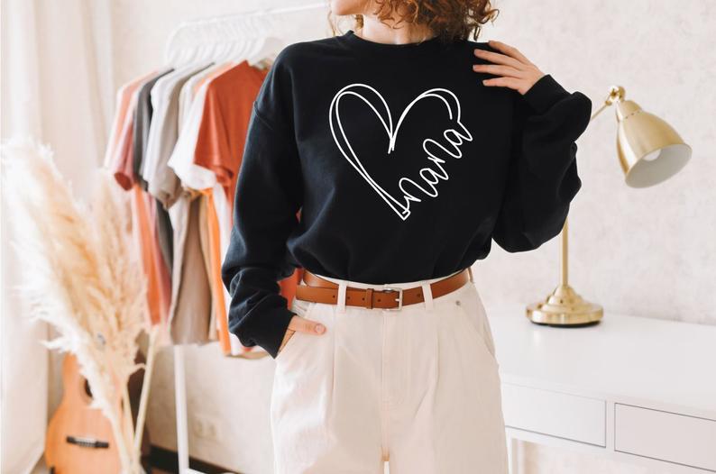 туфли chic nana chic nana ch039awtll45 Stay True New Arrival Nana Sweatshirt Spring Autumn Cotton Jumper Long Sleeved Grandma Outfit Gift For Grandma Nana Sweatshirts