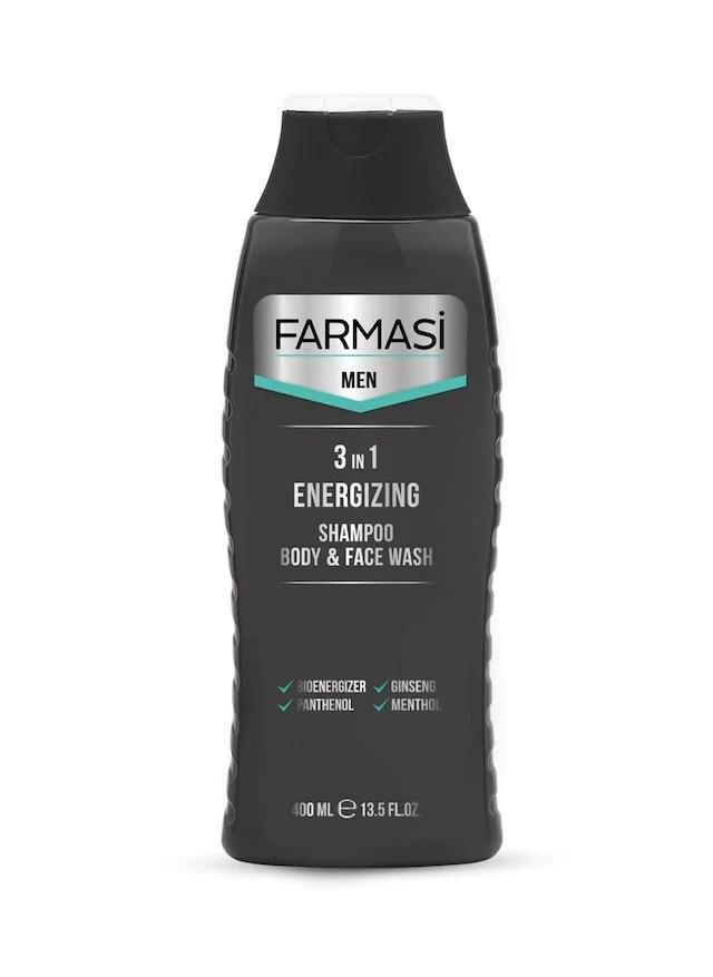 Farmasi-جل استحمام ووجه للرجال ، طاقة 3 في 1 ، 421016298