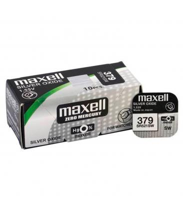 Pilas de boton Maxell bateria original Oxido de Plata SR521SW blister 2X Uds