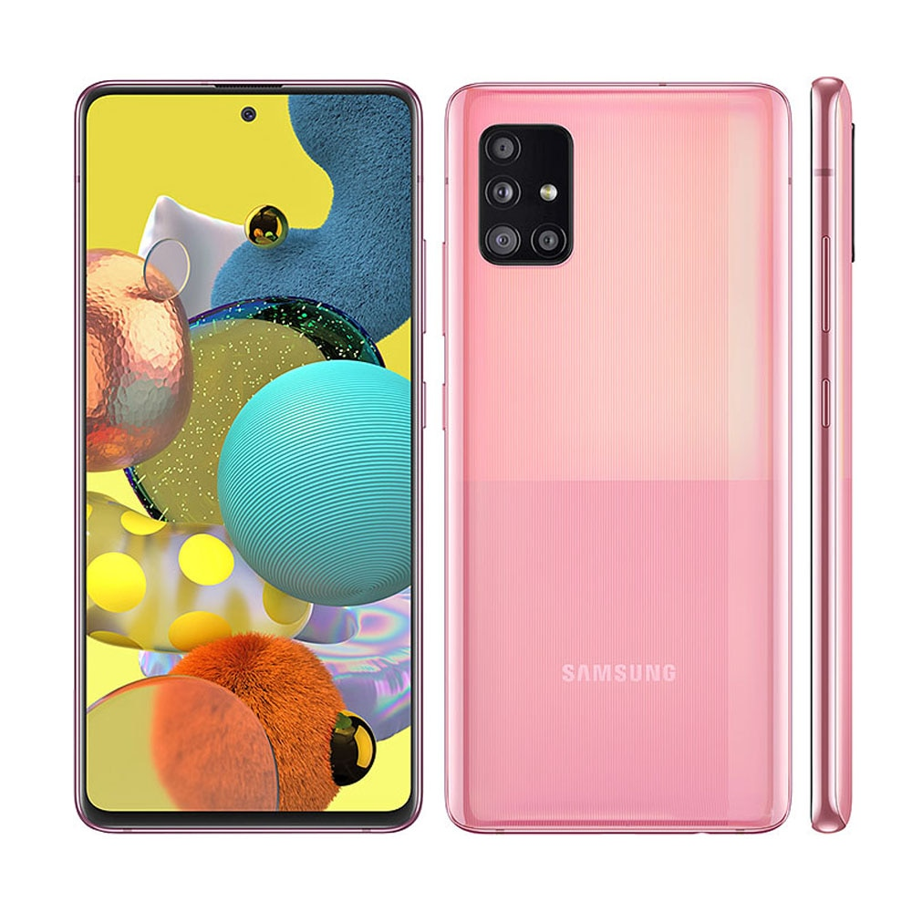 Перейти на Алиэкспресс и купить Разблокированный смартфон Samsung Galaxy A51, телефон с экраном 6,5 дюйма, 6 ГБ ОЗУ, 128 Гб ПЗУ, Восьмиядерный процессор, NFC, 4 камеры, 48 МП, Восстановленны...