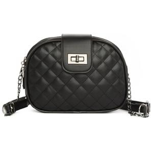 Woman Bags Black Shoulder Bag Women Handbag Crossbody Tote Lady Fashion Small Leather Hand Purse Designer Girls Flap Solid PU