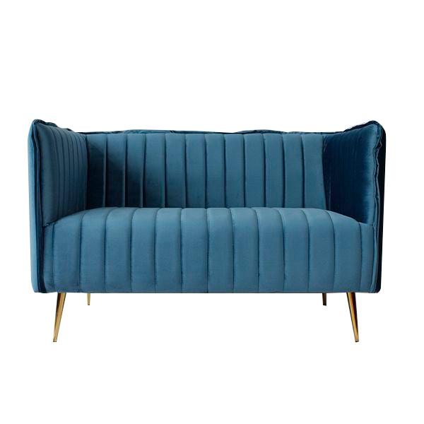 Sofá de 2 Plazas Art Deco Lines (126 x 73 x 78 cm)