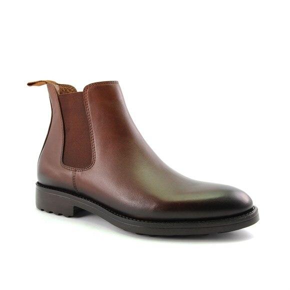 Forelli conforto botas de café ao ar livre couro genuíno 36252 feito em peru sneaker chinelo sandália sapatos anatômicos especialista