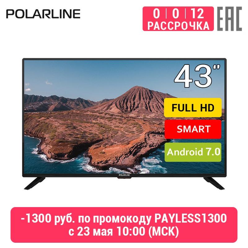 "Телевизор 43"" POLARLINE 43PL51STC-SM Full HD Smart TV"