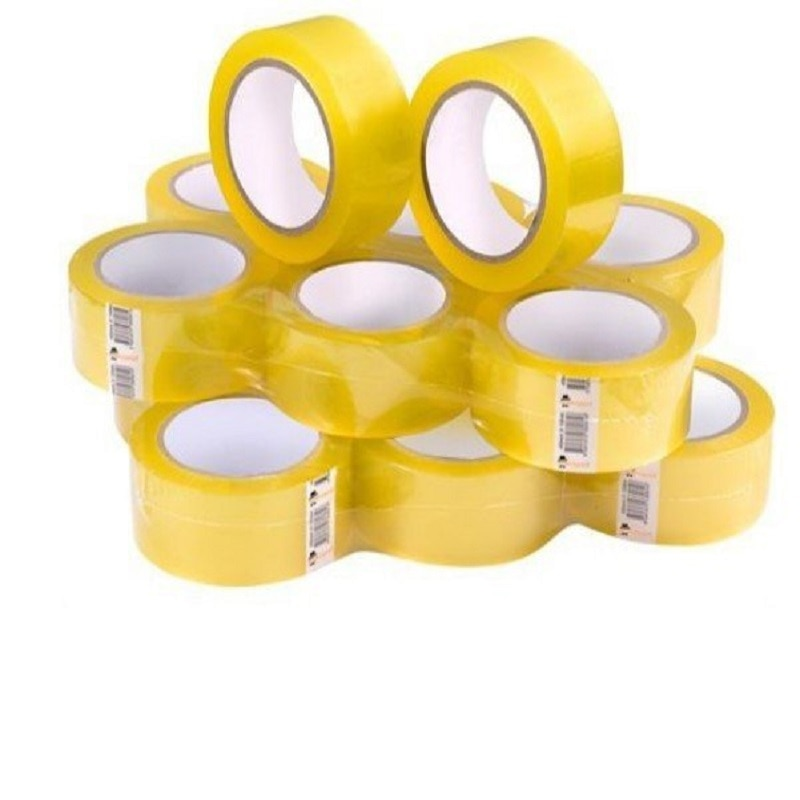 45mm 100 Yard 72 Pieces Adhesive Super Strong Scotch Tape OPP Sealing Packaging Tape Carton Box Tape Packaging Transparent Mount