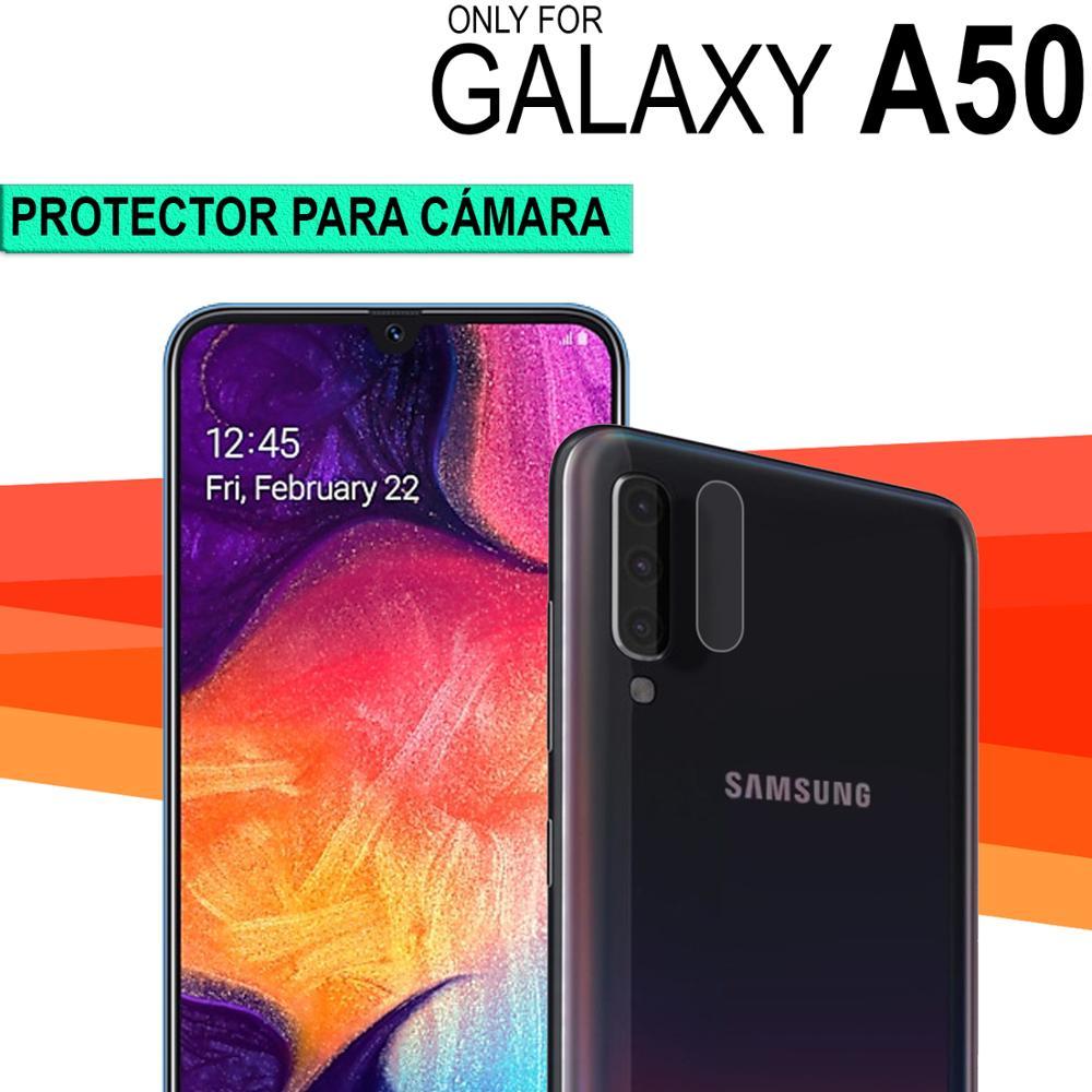 Envio Desde ESPAÑA Protector de cámara cristal templado trasera cubre lente compatible SAMSUNG GALAXY A50