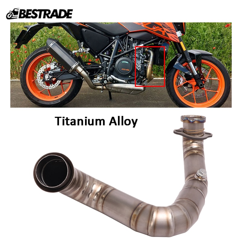 modified part front tube sighting device for nerf elite series orange grey Motorcycle Exhaust Pipe Titanium Alloy Header Link Tips Front Middle Link Tube Modified for Duke 690 2012-2018 Escape