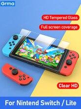 Стекло Grma 9D HD для Nintendo Switch, защита экрана из закаленного стекла для Nintendos Switch NS, стеклянные аксессуары, пленка для экрана