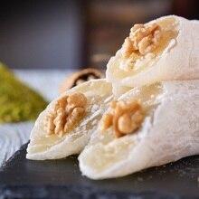 Erstaunliche Gesunde Gerösteten Doppel Nussbaum Türkischen Leuchter Freude Vegan Süßigkeiten Dessert Köstliche Gourmet Süße 450 gramm