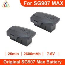 ZLL SG907 Max Drone 4K Profesional 7.6V 2600 Mah Lipo Battery Original SG907 Drone Accessories