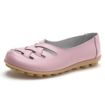 ALOHAKIM  2021 new flats shoes summer shoes