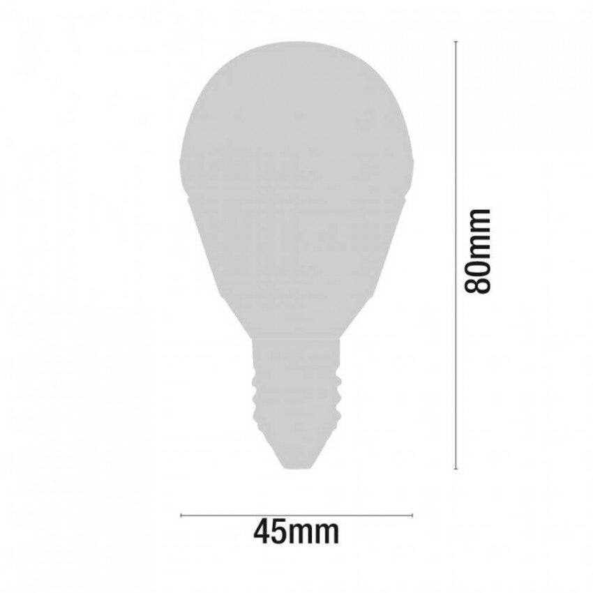Упаковка 3 светодиодный Сферический лампы E14 6W Equi.40W 470lm 15000H 7hSevenOn