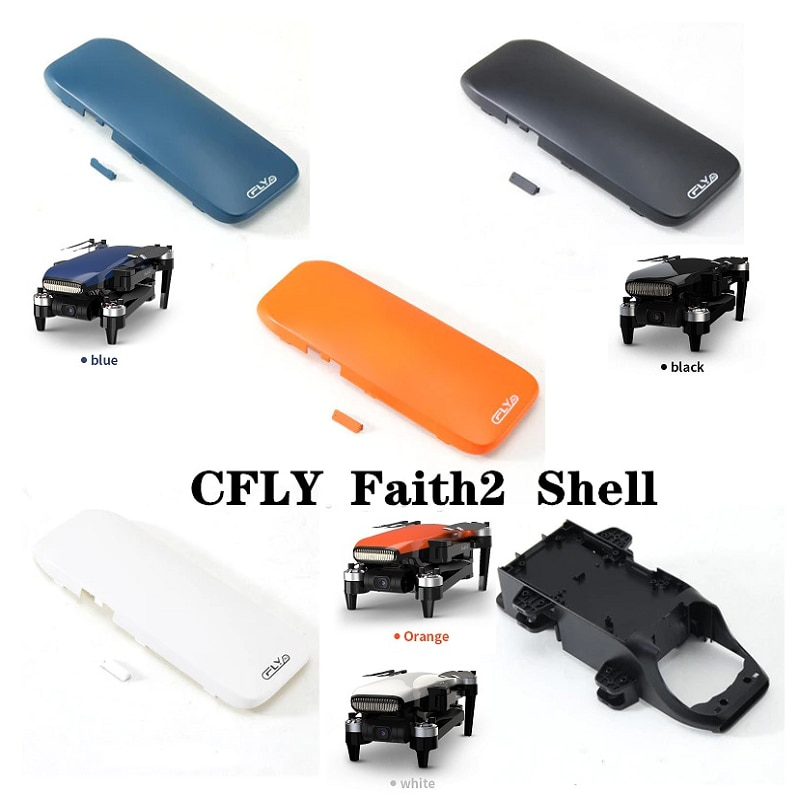 C-FLY Faith 2 Drone Cover Spare Parts With Wires Accessories 4 arms options or the whole set DIY Accessories Replacement Parts