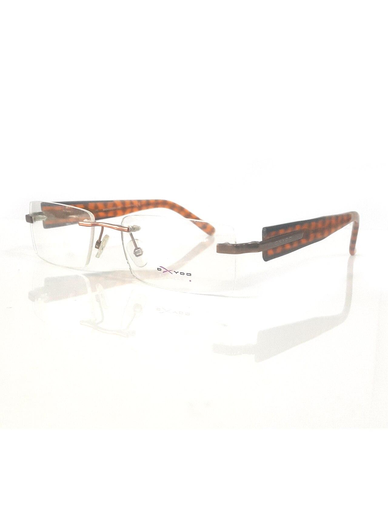 Markamilla Unisex gafas de lectura Marco de demostración gafas de gafas transparentes de alta calidad mujeres MenOxydo OX 300 UBR 52 17