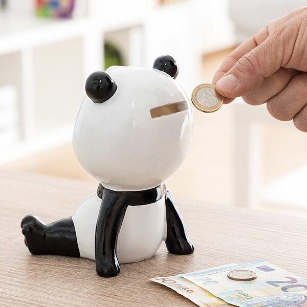 Hucha de Cerámica Oso Panda