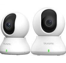 Домашняя камера безопасности 1080p система видеонаблюдения домашняя камера с ночным видением для дома/офиса/ребенка/няни/питомца монитор бел...