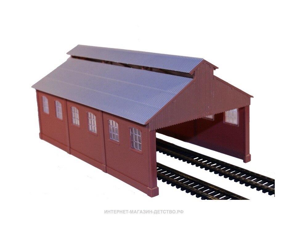 Depósito para locomotiva