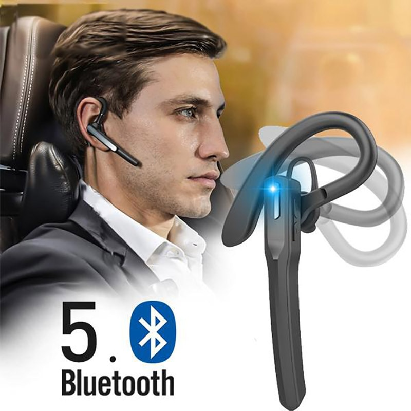 M8 business Bluetooth Earphones Wireless Headphones Stereo Handsfree Noise Canceling Bluetooth Headset with Mic for Smart Phone